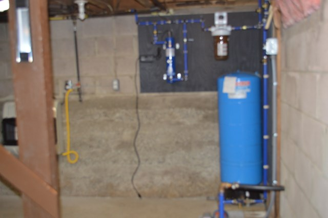 Basement - Water treatment system